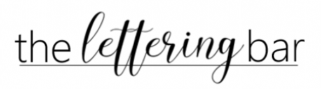 The Lettering Bar